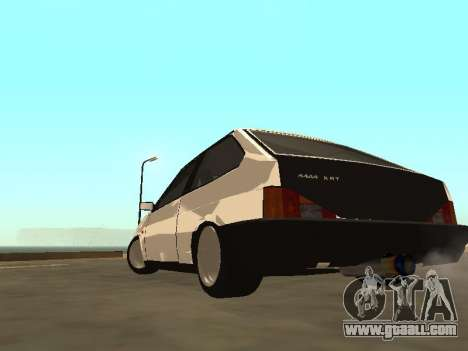 VAZ 2108 Bunker for GTA San Andreas left view