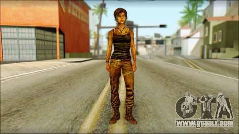 Tomb Raider Skin 13 2013 for GTA San Andreas