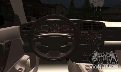 Volkswagen Corrado for GTA San Andreas back left view