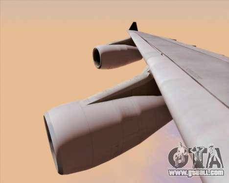 Airbus A340-313 Air Canada for GTA San Andreas bottom view