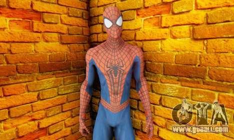 The Amazing Spider Man 2 Oficial Skin for GTA San Andreas third screenshot