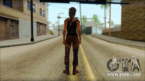 Tomb Raider Skin 13 2013 for GTA San Andreas second screenshot