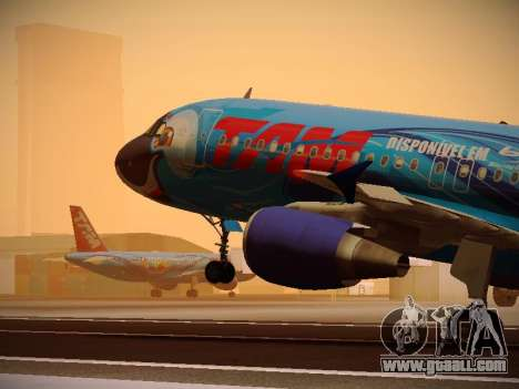 Airbus A320-214 TAM Airlines RIO for GTA San Andreas