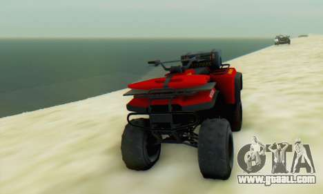 Nagasaki Blazer Lifeguard for GTA San Andreas