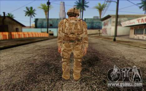 British soldiers (ArmA II: BAF) v2 for GTA San Andreas second screenshot