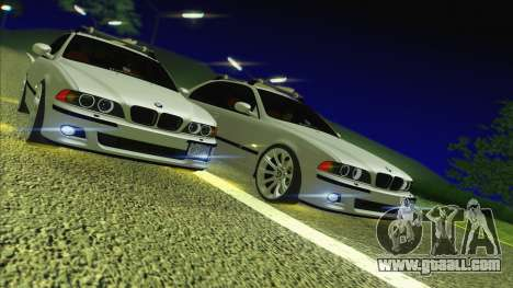 BMW M5 E39 2003 Stance for GTA San Andreas back view