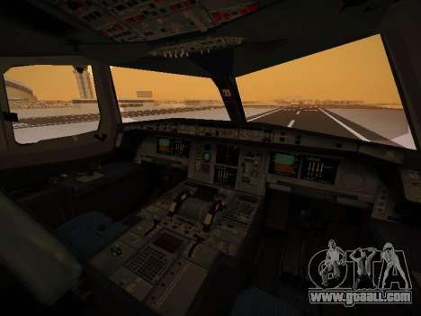 Airbus A380-800 Thai Airways International for GTA San Andreas