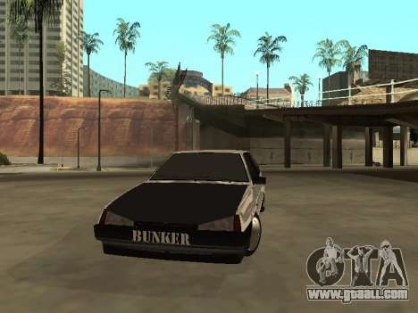 VAZ 2108 Bunker for GTA San Andreas