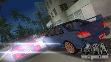 Subaru Impreza WRX STI 2006 Type 1 for GTA Vice City side view