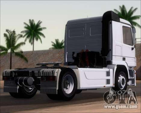 Mercedes-Benz Actros 3241 for GTA San Andreas left view