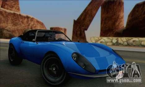 Grotti Stinger 1.0 (HQLM) for GTA San Andreas