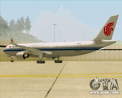 Airbus A330-300 Air China for GTA San Andreas right view