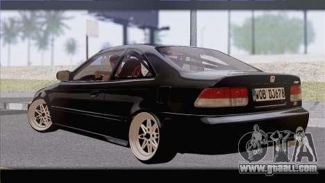 Honda Civic EM1 for GTA San Andreas left view