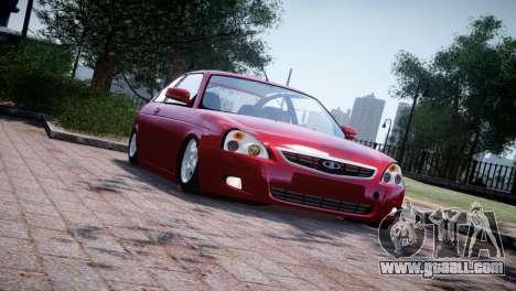 Lada Priora Coupe for GTA 4 left view