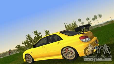 Subaru Impreza WRX STI 2006 Type 4 for GTA Vice City inner view