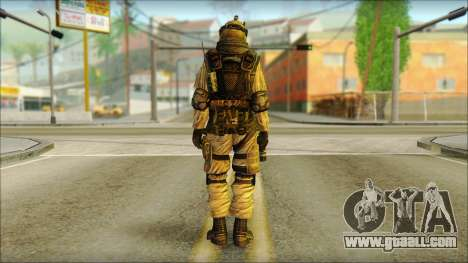 Soldiers of the EU (AVA) v6 for GTA San Andreas second screenshot