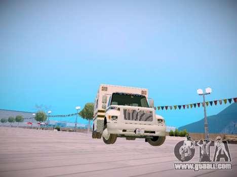 Pierce Commercial Grasonville Ambulance for GTA San Andreas