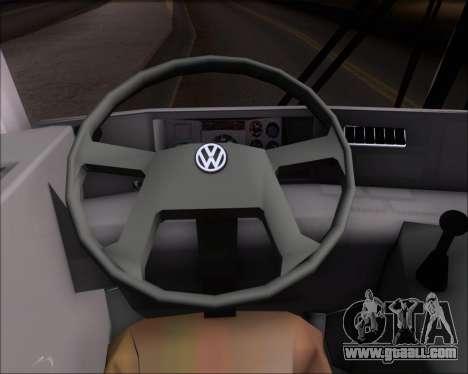 Marcopolo Viaggio G7 Mercedes-Benz OF1724M for GTA San Andreas interior