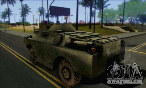 BRDM-2 from ArmA Armed Assault for GTA San Andreas left view
