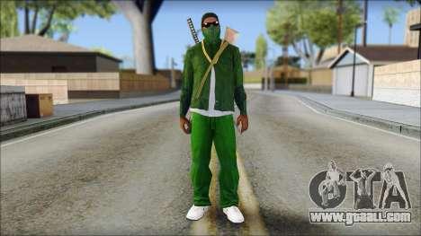 New CJ v6 for GTA San Andreas