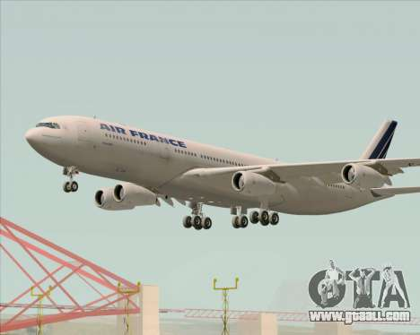 Airbus A340-313 Air France (Old Livery) for GTA San Andreas engine