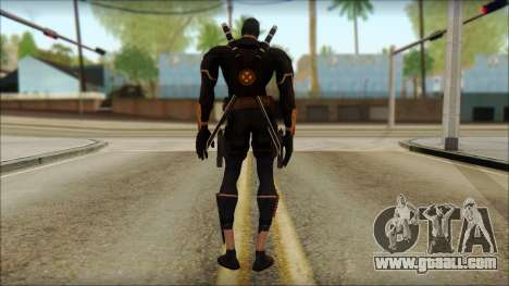 Xmen Alt Deadpool The Game Cable for GTA San Andreas second screenshot