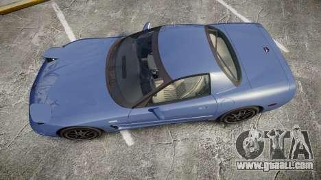 Chevrolet Corvette Z06 (C5) 2002 v2.0 for GTA 4 right view