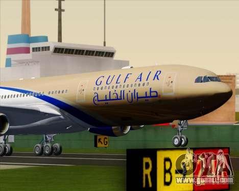 Airbus A340-313 Gulf Air for GTA San Andreas