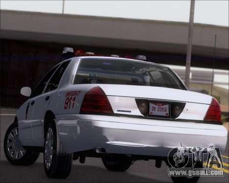 Ford Crown Victoria Tallmadge Battalion Chief 2 for GTA San Andreas