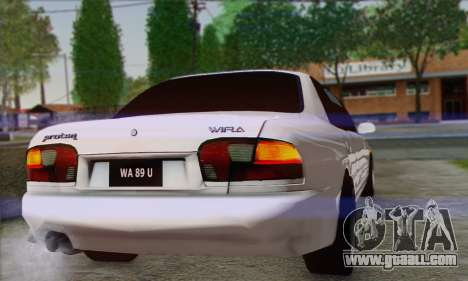 Proton Wira Official Malaysian Limousine for GTA San Andreas right view