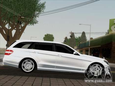 Mercedes-Benz E250 Estate for GTA San Andreas back left view