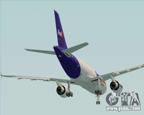 Airbus A310-300 Federal Express for GTA San Andreas upper view