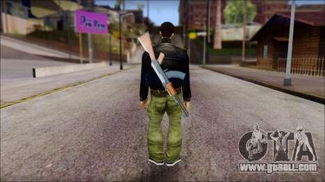 Shades and Gun Claude v1 for GTA San Andreas second screenshot