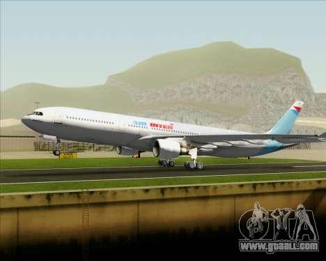 Airbus A330-300 Air Inter for GTA San Andreas engine
