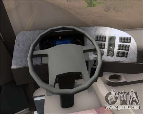 Mercedes-Benz Actros 3241 for GTA San Andreas wheels