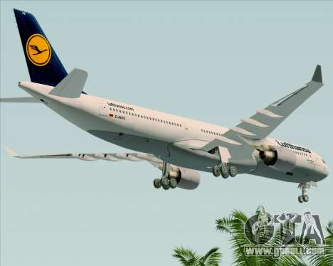 Airbus A330-300 Lufthansa for GTA San Andreas