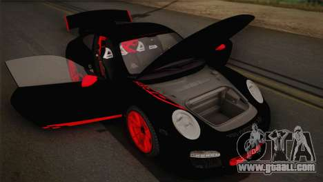 Porsche 911 GT3RSR for GTA San Andreas inner view