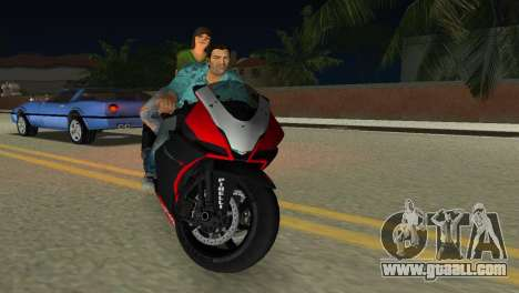Aprilia RSV4 2009 Original for GTA Vice City inner view