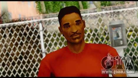 Lance no Glasses Casual for GTA San Andreas third screenshot