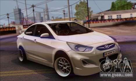 Hyundai Club for GTA San Andreas