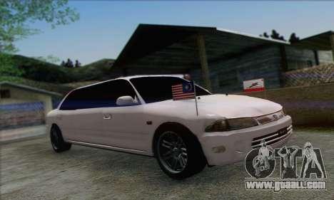 Proton Wira Official Malaysian Limousine for GTA San Andreas