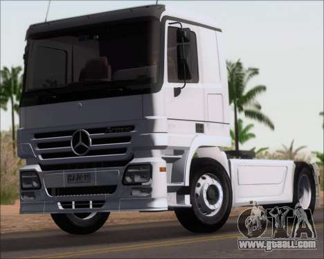 Mercedes-Benz Actros 3241 for GTA San Andreas right view