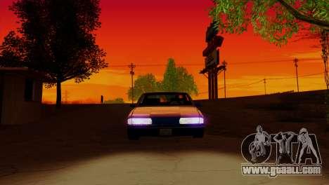 Bright ENB Series v0.1b By McSila for GTA San Andreas forth screenshot