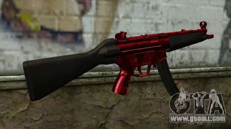 MP5 for GTA San Andreas second screenshot