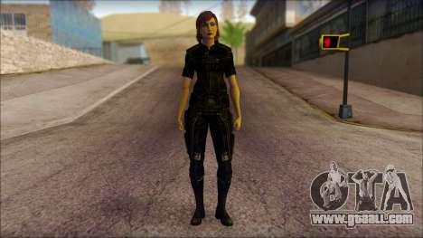 Mass Effect Anna Skin v4 for GTA San Andreas