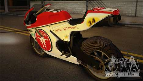 Bati RR 801 for GTA San Andreas left view