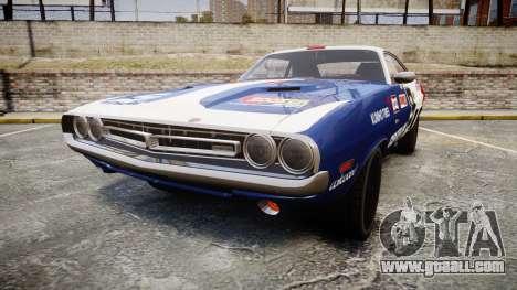 Dodge Challenger 1971 v2.2 PJ10 for GTA 4