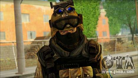 Soldiers of the EU (AVA) v6 for GTA San Andreas third screenshot