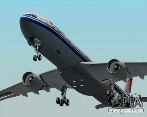 Airbus A330-300 Air China for GTA San Andreas upper view