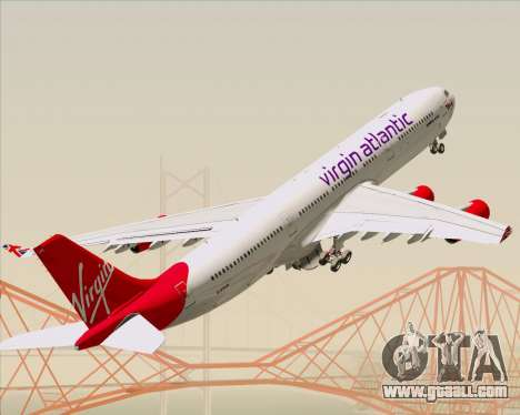 Airbus A340-313 Virgin Atlantic Airways for GTA San Andreas